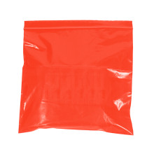 """10"""" x 12"""" - 2 Mil Red Reclosable Poly Bags"""