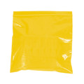 """10"""" x 12"""" - 2 Mil Yellow Reclosable Poly Bags"""