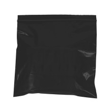 "12"" x 15"" - 2 Mil Black Reclosable Poly Bags"