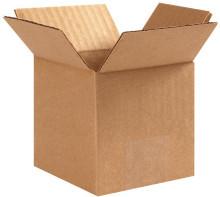 "4"" x 4"" x 4"" Brown Corrugated Cardboard Shipping Box  Build-A-Bundle™"