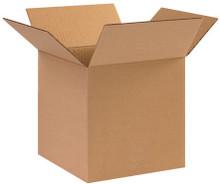 "10"" x 10"" x 10"" Brown Corrugated Cardboard Shipping Box Build-A-Bundle™"