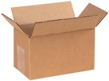 "7"" x 4"" x 4"" Brown Corrugated Cardboard Shipping Box Build-A-Bundle™"