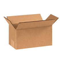 "8"" x 4"" x 4"" Brown Corrugated Cardboard Shipping Box Build-A-Bundle™"