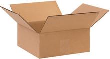 "10"" x 10"" x 4"" Brown Corrugated Cardboard Shipping Box Build-A-Bundle™"