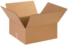 "14"" x 14"" x 6"" Brown Corrugated Cardboard Shipping Box Build-A-Bundle™"