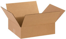 "14"" x 12"" x 4"" Brown Corrugated Cardboard Shipping Box Build-A-Bundle™"