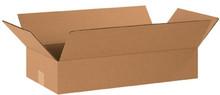 "20""x10""x4"" Brown Corrugated Cardboard Shipping Box"