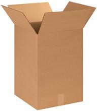 "14"" x 14"" x 20"" Brown Corrugated Cardboard Shipping Box Build-A-Bundle™"