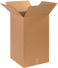 "14"" x 14"" x 24"" Brown Corrugated Cardboard Shipping Box Build-A-Bundle™"