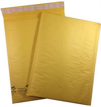 "9 1/2"" x 13"" Kraft Self Seal Bubble Mailer Envelope"