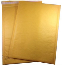 "12 1/2"" x 18"" Kraft Self Seal Bubble Mailer Envelope"