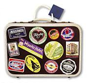 "11"" x 15"" x 5 1/2"" Suitcase Large Die Cut Gift Bag"