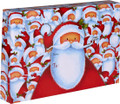 "18"" x 12"" x 3"" Christmas Themed Decorative Gift Shipping Boxes ""Santa"""