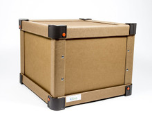 Kübox Small Square Shipping Crate Reusable, Light Weight, Collapsible, Strong