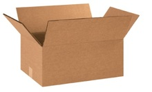 "18"" x 12"" x 6"" (275#DW/ECT-48) Heavy-Duty Double Wall Kraft Corrugated Cardboard Shipping Boxes"