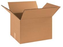 "18"" x 14"" x 10"" (275#DW/ECT-48) Heavy-Duty Double Wall Kraft Corrugated Cardboard Shipping Boxes"