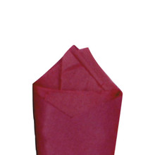 Cabernet (Dark Red/Maroon) Color Wrapping and Tissue Paper, Quire Folded