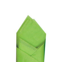 Citrus Green Color Wrapping and Tissue Paper, Quire Folded