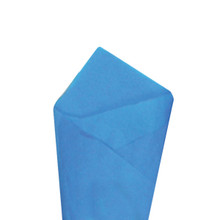 Fiesta Blue Color Wrapping and Tissue Paper, Quire Folded