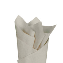 Khaki Color Wrapping and Tissue Paper, Quire Folded