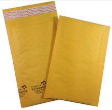 "FastPack Packaging Our Brand 4"" x 8"" #000 Kraft Self Seal Bubble Mailers Envelopes"