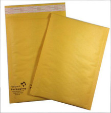 "FastPack Packaging Our Brand 6"" x 9"" #0 Kraft Self Seal Bubble Mailers Envelopes"