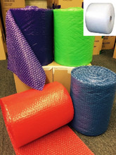 Clear Bubble Wrap®, Blue Bubble Wrap®, Lime Green Bubble Wrap®, Purple Bubble Wrap®, Red Bubble Wrap®