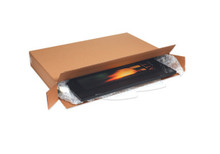 """24 x 6 x 18"""" Side Loading Corrugated Cardboard Shipping Boxes, Picture Frame Boxes"""