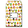 Christmas Themed Emoji Christmas Decorative Tyvek Sendables Foam Padded Gift Shipping Envelopes