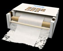 Geami WrapPak® Convenient Box Dispenser Takes up a Small Amount of Storage/Counter Space.