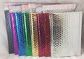 Metallic Self Seal Bubble Mailers Envelopes. Black, Blue, Fuchsia, Gold, Silver, Purple and Red Foil Blingvelopes.