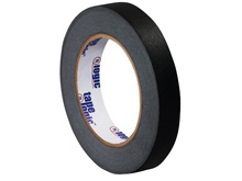"1/2"" Black Colored Masking Tape - Tape Logic™"