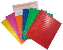 """Shiny Shippers™ 10 1/2"""" x 15"""" #5 Pink Bubble Mailers"""