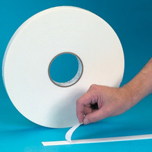 "2"" x 36 yds. (1/16"" White) Double Sided Foam Tape. Tape Logic® 5700 - Bind signs and displays."