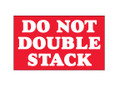 """Do Not Double Stack"" Shipping and Handling Labels"