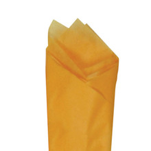 Apricot Color Wrapping and Tissue Paper, Quire Folded