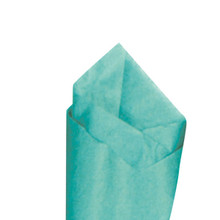Aquamarine Color Wrapping and Tissue Paper, Quire Folded