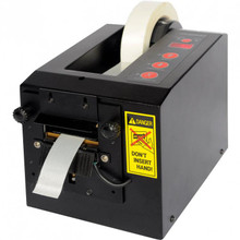 Creates a 3/8 inch wide fold on the leading edge of the tape as it is being presented