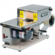 L-Clip Box Sealer applies a length of tape from the side to the bottom of a box creating a secure and economical closure.