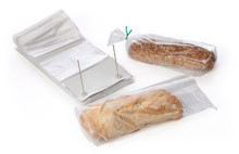 """4"""" bottom gusseted, our bags met FDA and USDA specifications."""