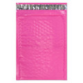 "Size #0 DVD 6.5""x9"" Pink Color Poly Bubble Mailers with Peel-N-Seal"