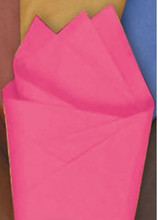 Flamingo Pink Color Wrapping and Tissue Paper, Quire Folded