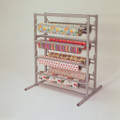 Twin Tower Eight Paper Roll Rack Cutter Dispenser
