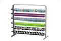 Gift Wrapping Paper and Cellophane Basket Wrap Storage Dispenser Cutter Organizer Rack