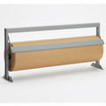 Table Top Mountable, Kraft Paper Dispenser Cutter with Straight Edge