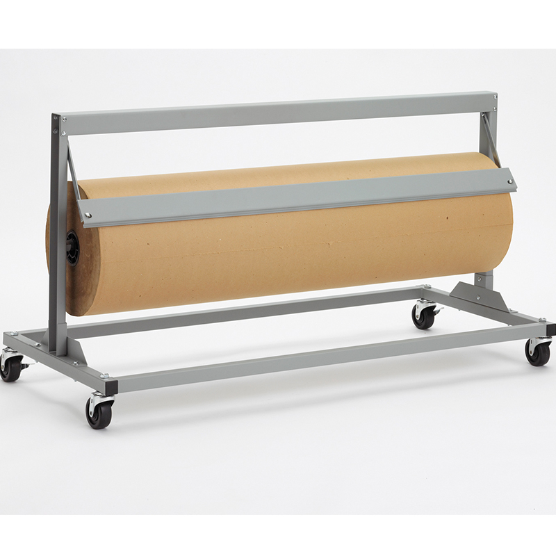 Jumbo Paper Dispenser Cutter Straight Edge with Casters