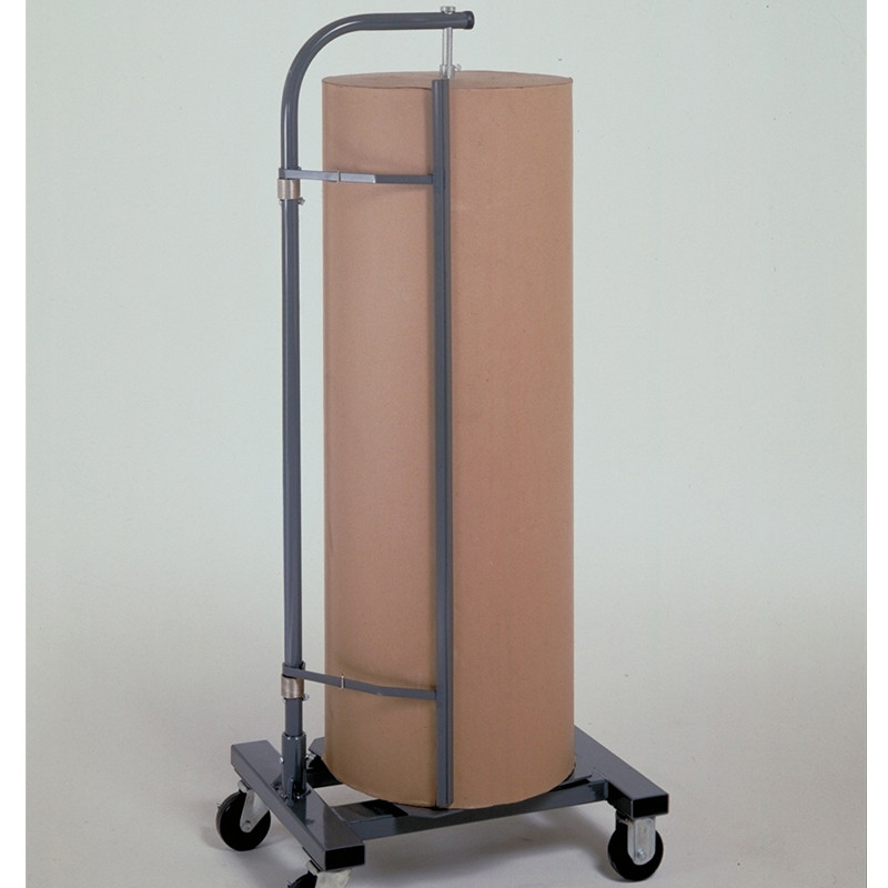 Jumbo Vertical Kraft Paper Cutter Dispenser with Casters