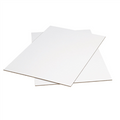 "40"" x 40"" White Corrugated Sheets 5/Bundle"