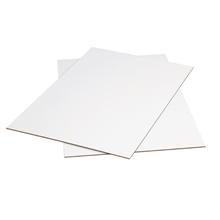 "40"" x 42"" White Corrugated Sheets 5/Bundle"