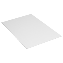"24"" x 18"" White Corrugated Plastic Sheets 10/Bundle"